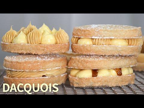 다쿠아즈 : Dacquoise 단짠의 솔티캐러멜과 묵진한 버터크림으로 다쿠와즈만들기 ♥ [만개의레시피]