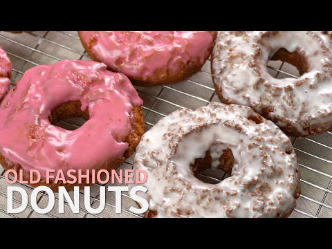 옛감성이 느껴지는 도넛 올드패션도넛 | Old fashioned Donuts