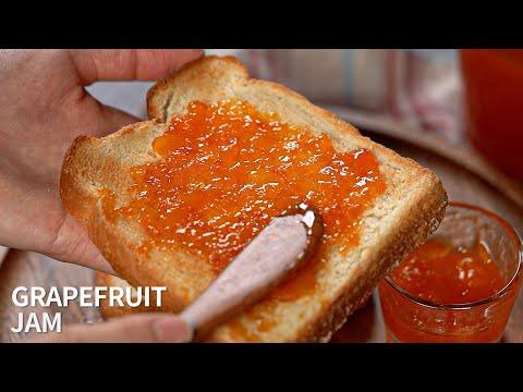건강한 수제잼 만들기, 자몽잼   Grapefruit jam