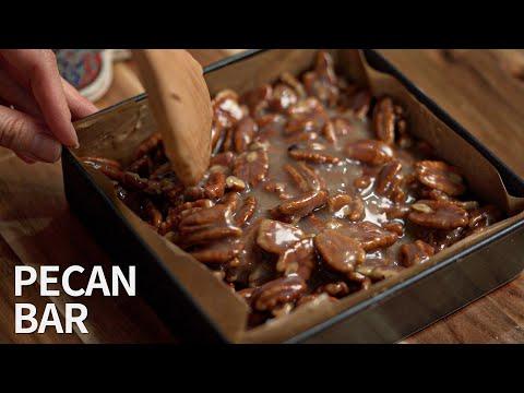 맛있는 피칸이 듬뿍, 피칸바 | Pecan bar